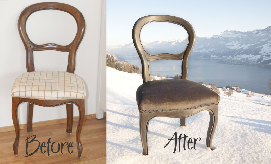 befor and after kathy chair