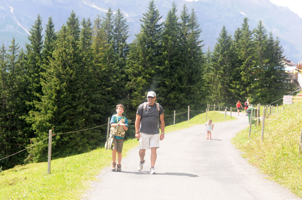 starting hike