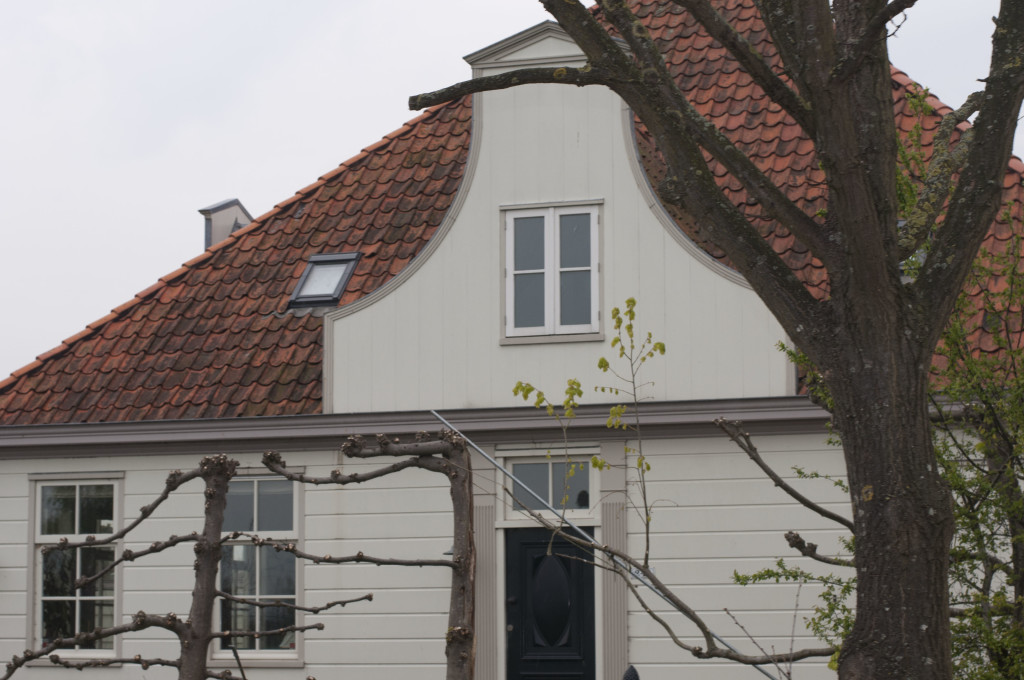 duch gable design on facade with hiped roof_