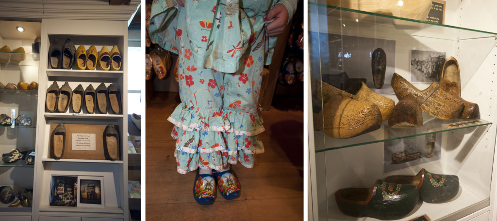 wooden shoe shop with museum