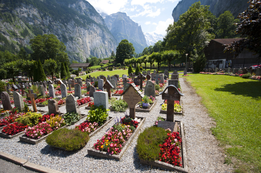 swiss grave yard