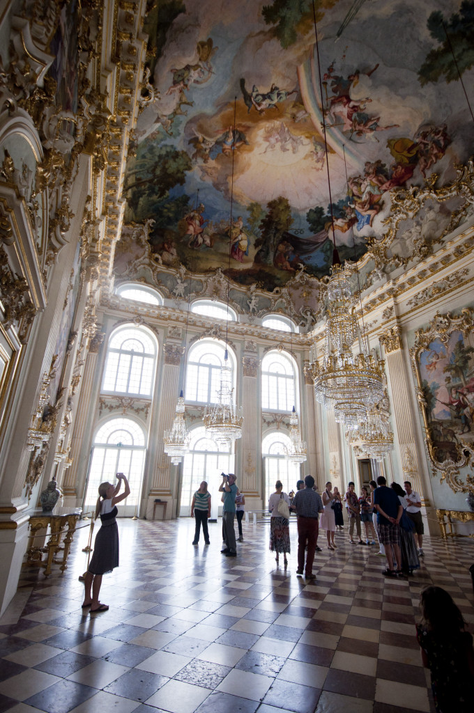 summer castle munich~interior