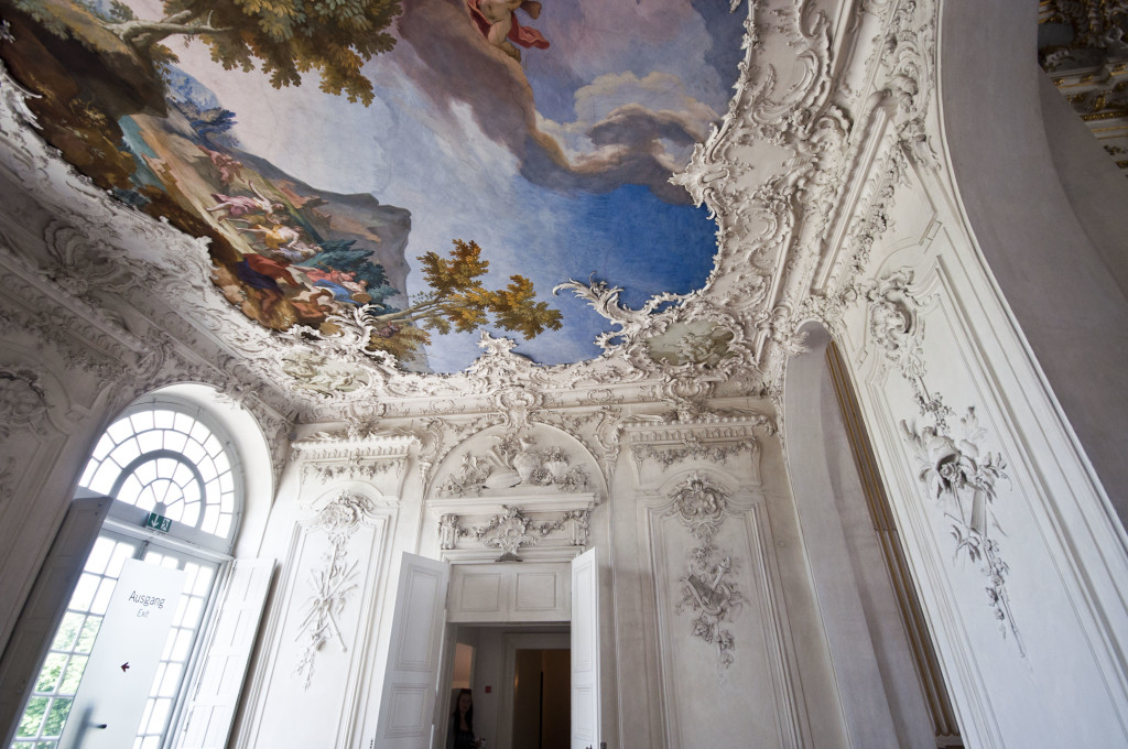 summer castle munich~plaster work
