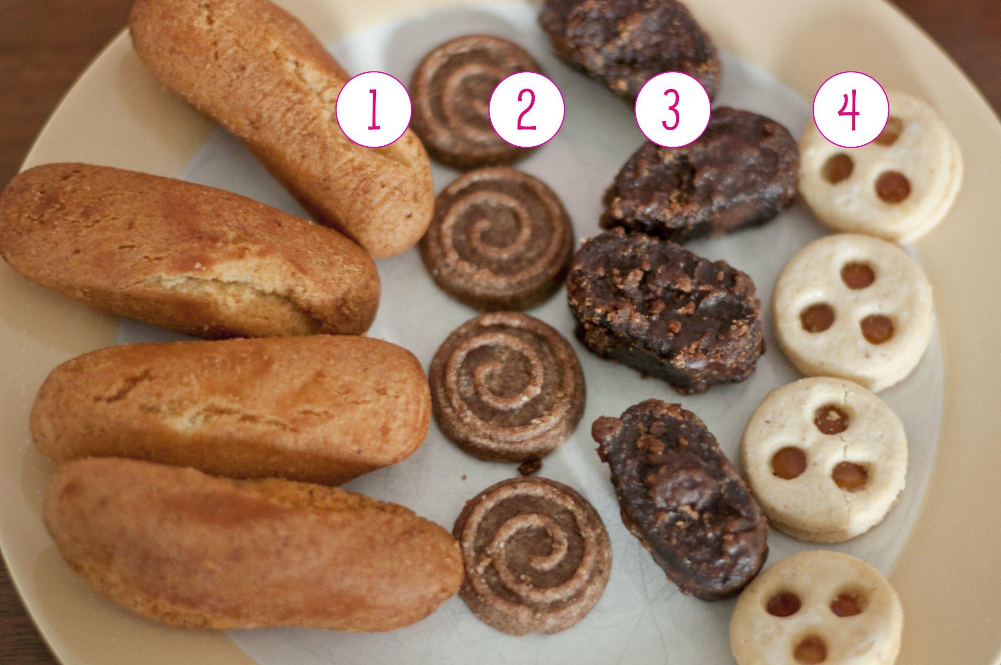swiss cookies overhead #
