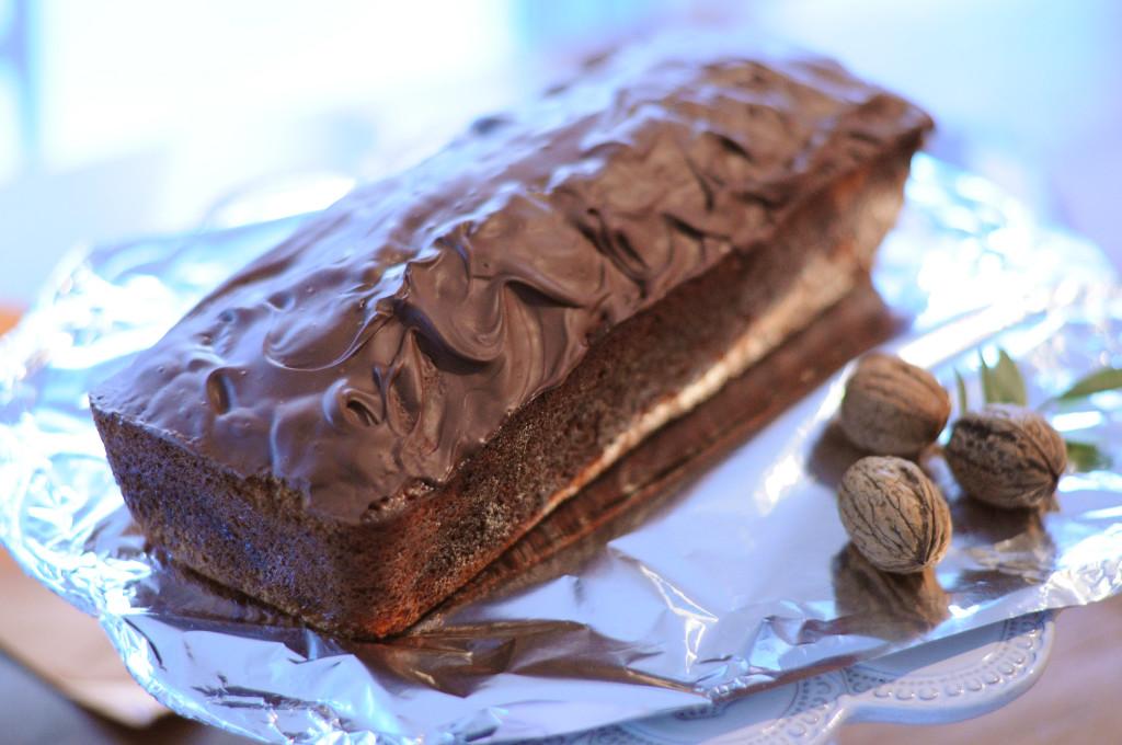 choc bannana cake