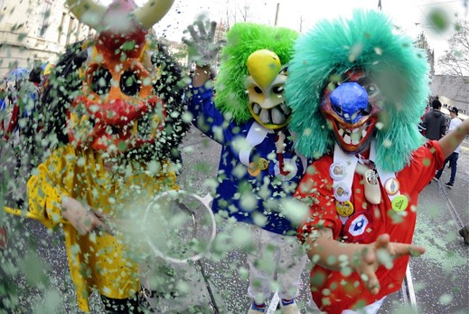 imaged borrowed from Basel Newspaper (the biggest Fasnacht in Switzerland)