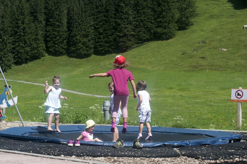 trampolin at bruni